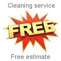 Cleaning service Free estimate